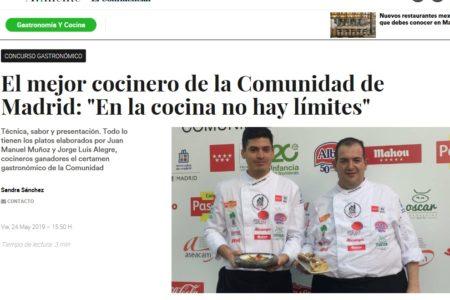 ElPradal en Alimente El Confidencial (Mayo 2019)