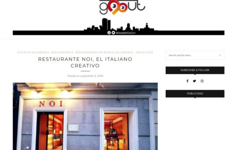 NOI en MadridGoOut (09.09.2019)