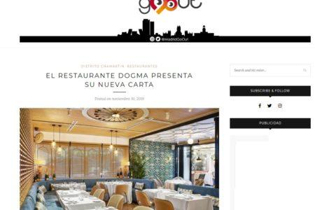 Dogma en MadridGoOut (10.11.2019)