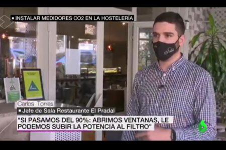 El Pradal en La Sexta (noviembre 2020)