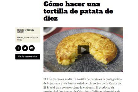 La Casita de El Pradal en Metrópoli El Mundo (09.03.2021)