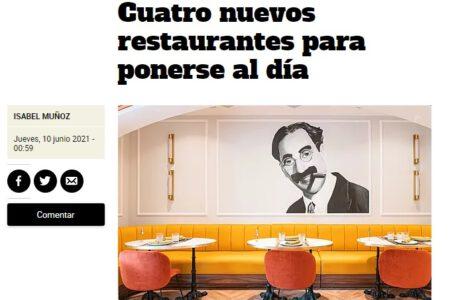 Groucho en Metropoli El Mundo (10.06.2021)